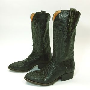 Corral Genuine Cayman Crocodile Boots 7D 7 D